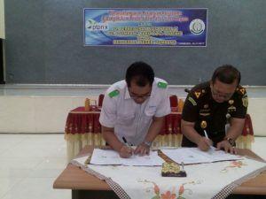Kerjasama di Bidang Hukum, PG Djombang Baru dan PG Tjoekir Serta Kejari Lakukan MoU