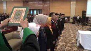 Setelah Dilantik, 95 Anggota PPK Langsung Kerja