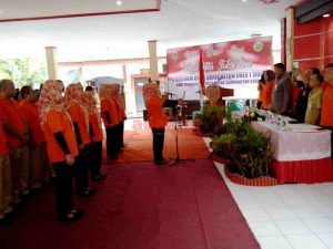 Warga Sananwetan Deklarasi Open Defecation Free (ODF)