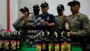 Satpol PP Kota Blitar Temukan 70 Rokok Tanpa Cukai