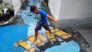 Kampung 3D Blitar Ramai Didatangi Untuk Berselfie