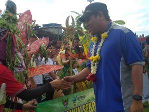 Walikota Kediri Buka Acara GERMAS Parade Buah dan Sayur