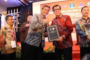 Kabupaten Nganjuk Dapat Penghargaan Kota Peduli HAM
