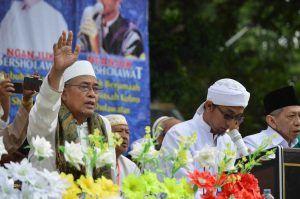 Ribuan Masyarakat, Santri dan Kiai Padati Agenda Nganjuk Bersholawat