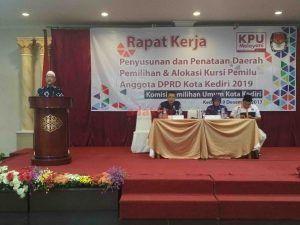 KPU Kota Kediri Gelar FGD, Rembuk Penataan Dapil
