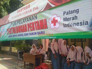 PMI Gandeng PMR Kota Kediri Buka Posko Pelayanan Kesehatan Natal dan Tahun Baru