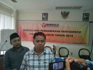 Panwaskab Jombang Gelar Sosialisasi Pengawasan Partisipatif Pemilu 2019