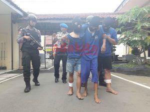 3 Spesialis Pencuri Motor Pelajar Dibekuk Polisi
