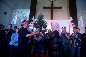 Bersama FKUB/PAUB-PK, Wawali Sampaikan Ucapan Natal ke Gereja-Gereja