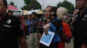Pembunuhan Balita Hanung, Polisi Temukan Fakta Baru Dalam Rekontruksi