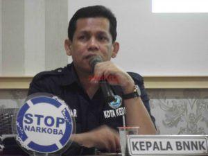 BNN Kota Kediri, Ajak Media Jadi Duta Anti Narkoba