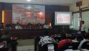 Panwaslu: Lawan Politik Uang dan Politisasi SARA Yang Mengancam Persatuan Rakyat