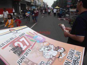 Sosialisasi Pilkada di CFD, KPU Targetkan 80 Persen Partisipasi Pemilih