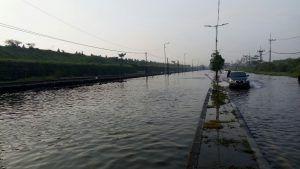 Banjir Sidoarjo, Bupati: Gara-gara Lumpur Dibuang ke Sungai Ketapang