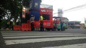 Dikeluhkan Netizen, Pos Pantau di Alun-alun Sidoarjo Akhirnya Dipindah