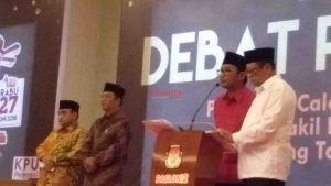 KPU: Debat Calon Bupati dan Wakil Bupati Tulungagung Tak Sesuai Harapan