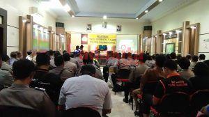 Polres Tulungagung Adakan Pelatihan Revolusi Mental Bagi Anggota