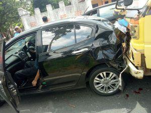 Pejabat Kota Blitar Jadi Korban Kecelakaan di Tulungagung