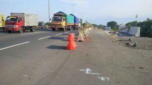 Penambahan Jalur Tol Surabaya – Gempol Masih 50 Persen