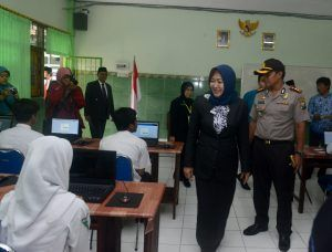 Diknas Kota Kediri Perketat Monitoring Pelaksanaan UNBK
