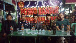 Ketua DPD KNPI Jombang Sambangi Banser di Pos Pengamanan Arus Mudik