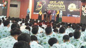 Peringati Bulan Bahasa, Smamda Launching Buku Karya Guru dan Siswa