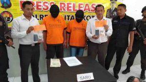 3 Bulan Jadi TO, Pengedar Sabu Asal Tulungagung Ditangkap