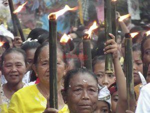 Rayakan Nyepi 1940 Saka, Umat Hindu Kediri Harapkan Pilkada Berjalan Damai
