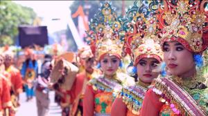 Semarak Pesona Sidoarjo di Delta Carnival