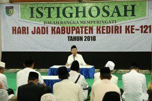 HUT Kabupaten Kediri ke-1214, Seluruh Umat Beragama Gelar Doa Bersama