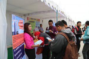 Job Market Fair Pemkab Kediri Dipadati Ribuan Pencari Kerja