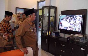UNAS di Sidoarjo Diawasi Pakai CCTV