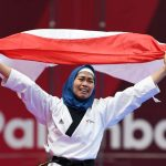 Emas Pertama Indonesia Disumbang Taekwondoin Defia