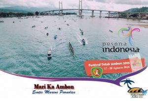 Festival Teluk Ambon 2018 : Festival Bahari yang Paling Meriah di Provinsi Maluku