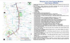 Rekayasa Jalan Lomba Asian Games 2018