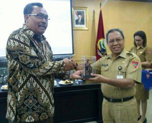 DPRD Dan Pemkot Blitar Belajar Kesehatan dan Pendidikan di Ambon