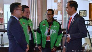 Jokowi Antar Go-Jek Rebut Pasar Vietnam