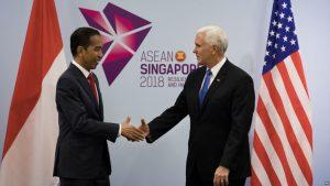 Jokowi-Pence Tegaskan Kemitraan Strategis RI-AS