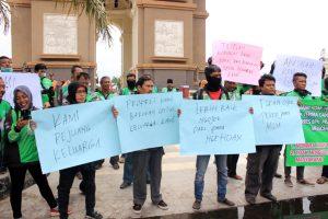 Paguyuban Ojol Kediri Menuntut Permohonan Maaf Dari Prabowo