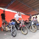 Kapolres Kediri Cup Drag Bike Peringati Hari Pahlawan