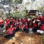 Peringati 1 Tahun Gudang Garam Cycling Community Lepas Burung Di Hutan Joyoboyo